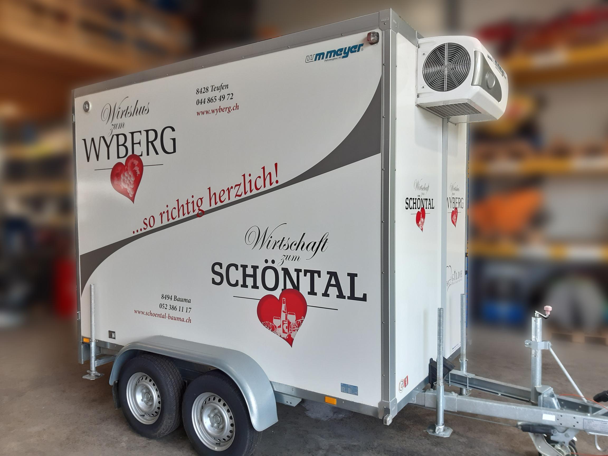 Wirtshus zum Wyberg Kühlanhänger
