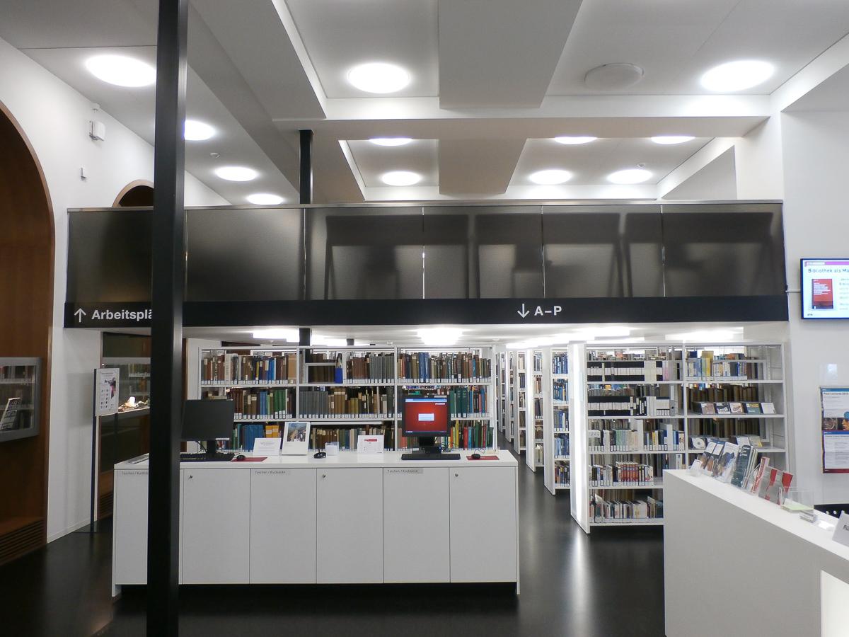 Sichtschutz Galerie ETHZ
