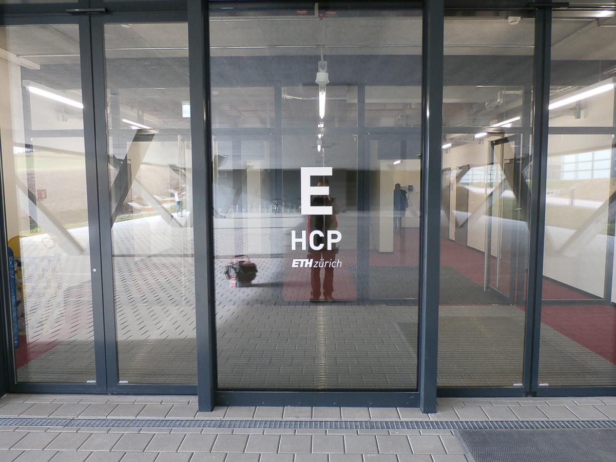 Gebäude Kennzeichnung ETHZ