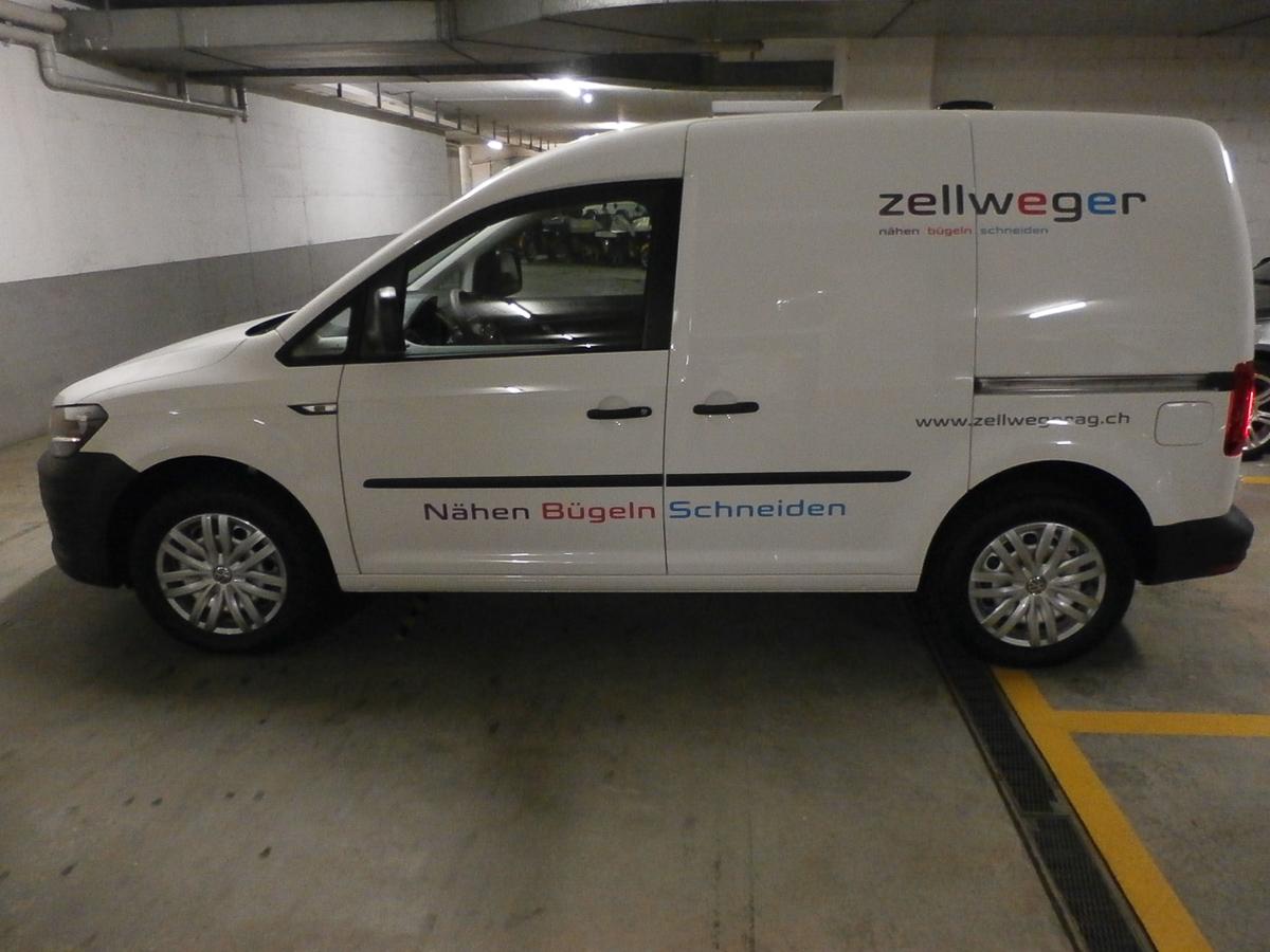 Fahrzeug-Beschriftung Lieferwagen
