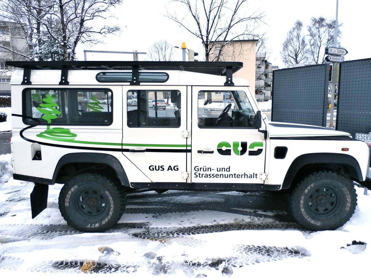 Fahrzeugbeschriftung - GUS AG