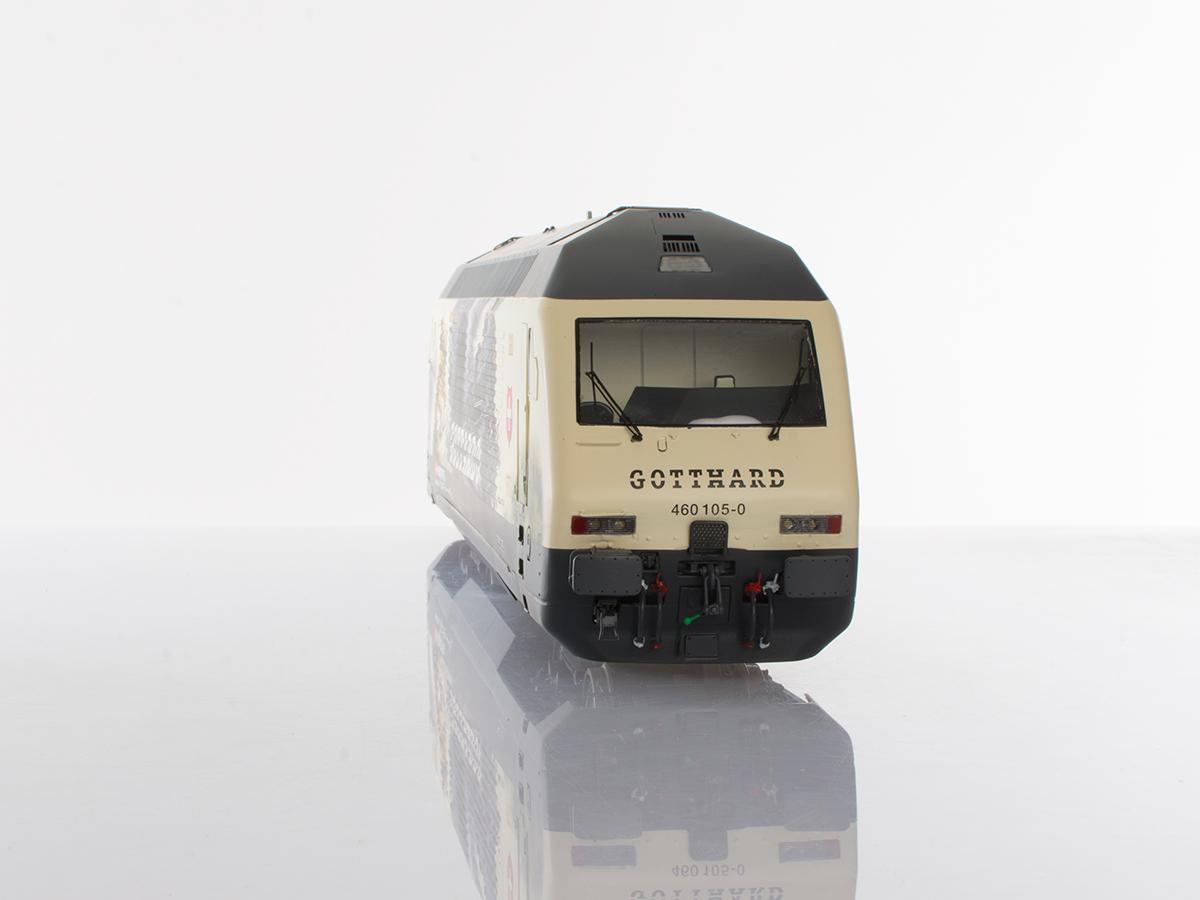 Pabas / Stucki – Spur 1 Re460 Gottardo II Front