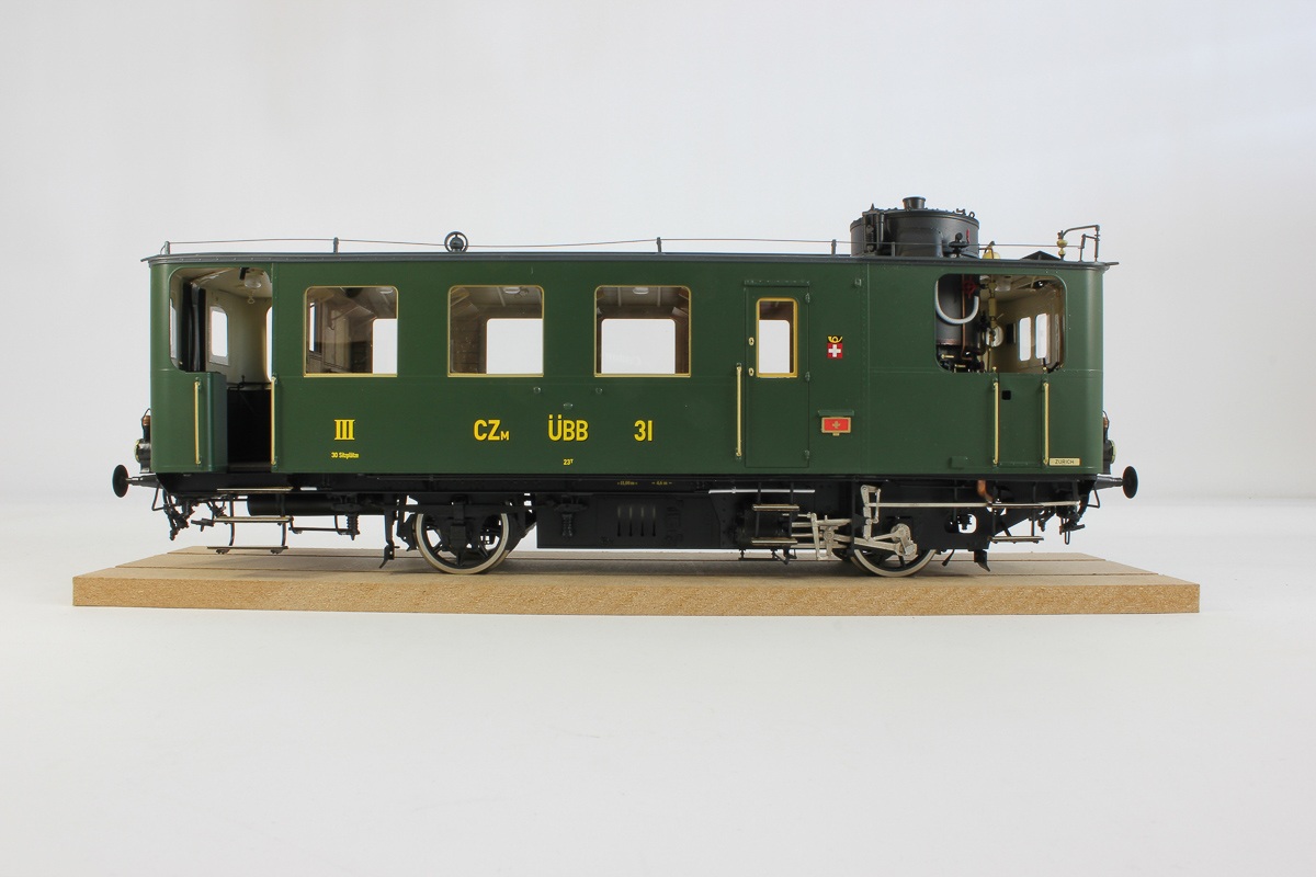 Modellbeschriftung Eisenbahnwagen CZm Uebb