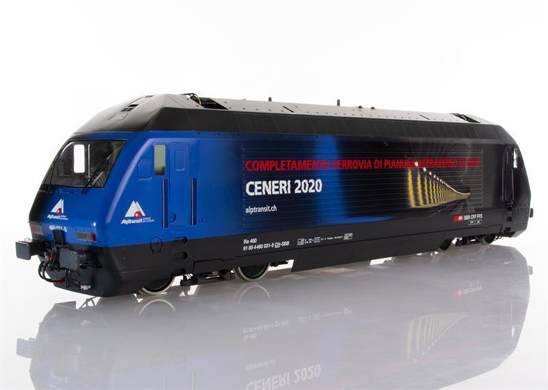 Pabas Stucki Spur 1 Re460 Limited Edition Ceneri 2020 - UV-Direktdruck und Anreibefolien