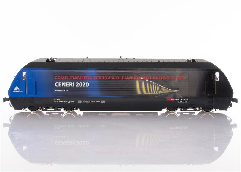 Pabas Stucki Spur 1 Re460 Limited Edition Ceneri 2020 - UV-Direktdruck und Anreibefolien Seite Italienisch