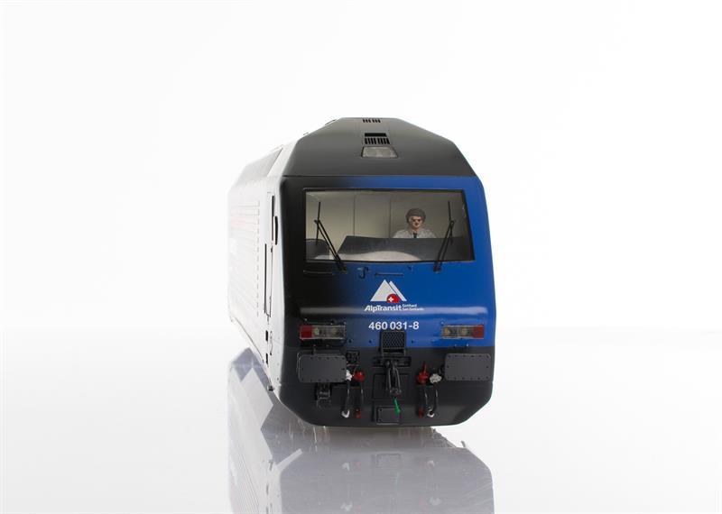Pabas Stucki Spur 1 Re460 Limited Edition Ceneri 2020 - UV-Direktdruck und Anreibefolien - Frontansicht