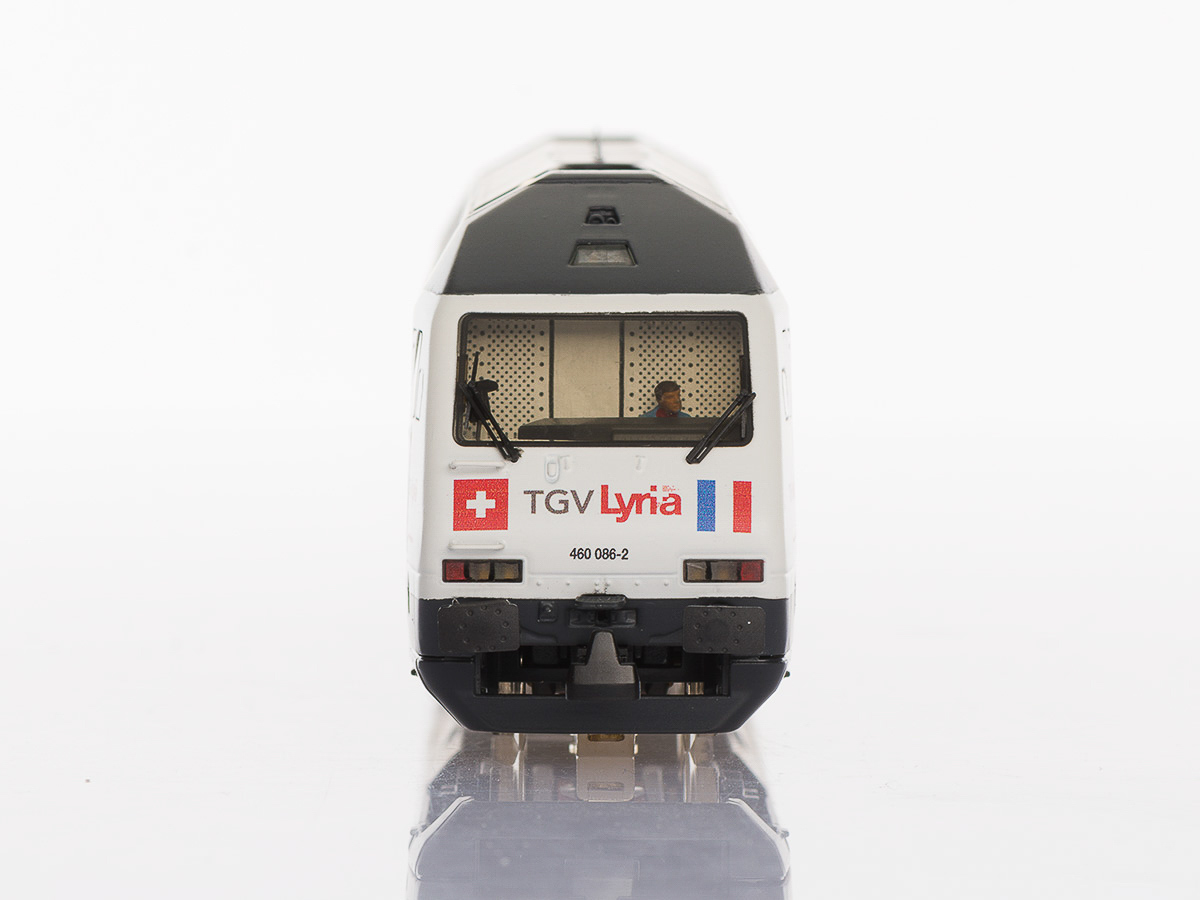 Pabas Stucki TGV Lyria Front Spur H0