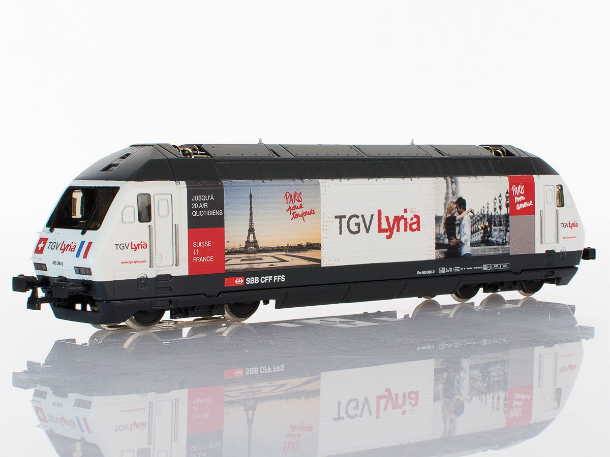 Pabas / Stucki – TGV Lyria