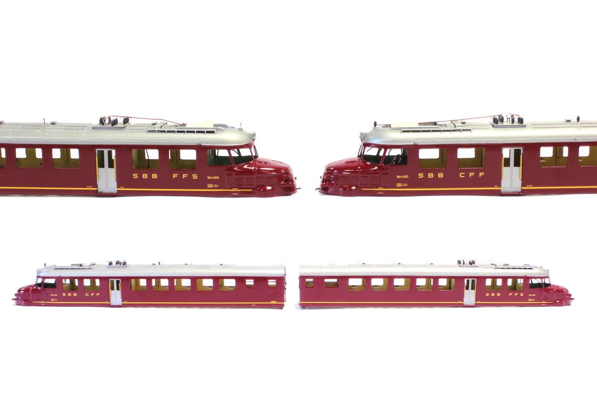 Modelleisenbahn-Beschriftung Roter Pfeil Spur H0