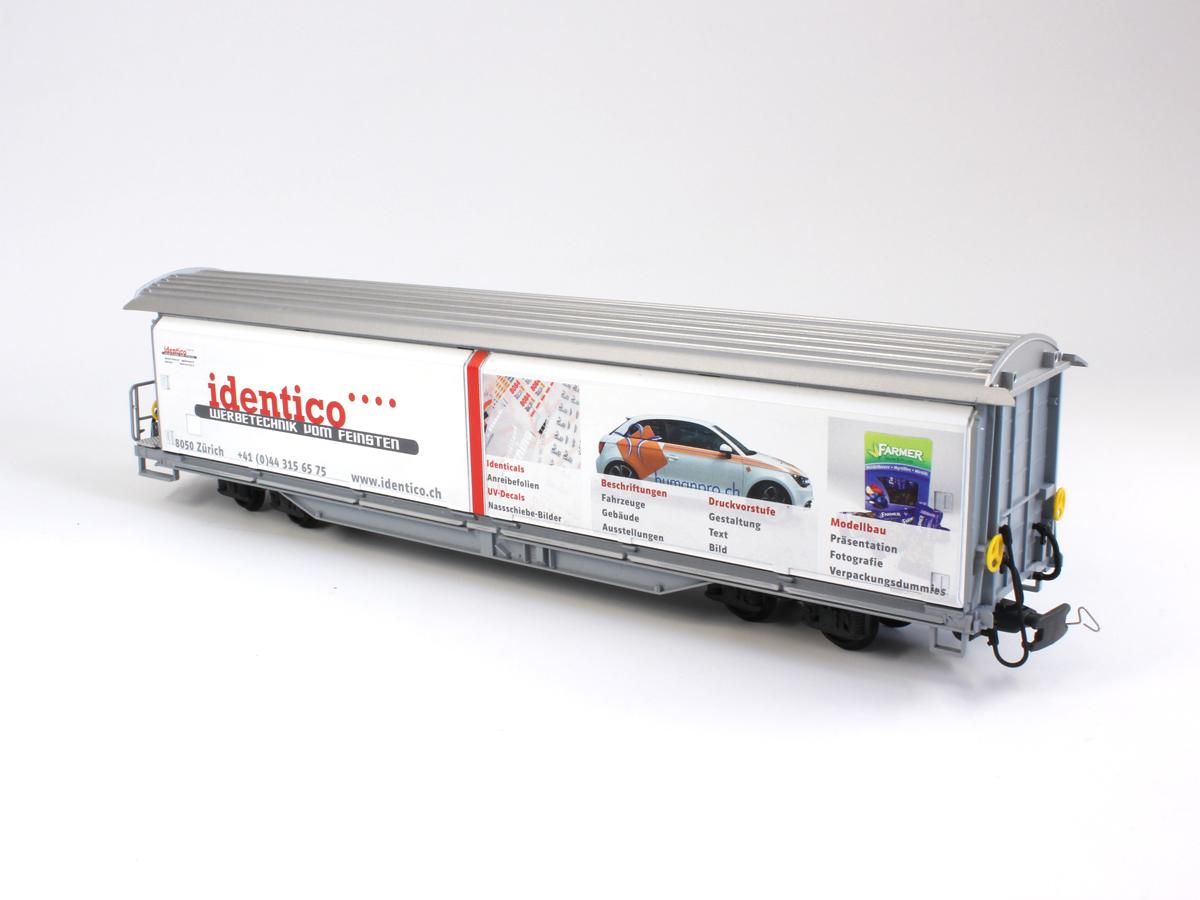 Spur 0 Musterwagen Identico UV-Direktdruck